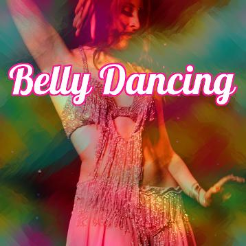Belly dance hen party Leicester at Skytribe studio